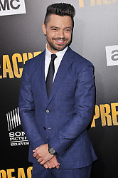 """Actor Dominic Cooper arrives at AMC's """"Preacher"""" Season 2 Premiere Screening held at the Theater at the Ace Hotel in Los Angeles, CA on Tuesday, June 20, 2017.  (Photo By Sthanlee B. Mirador) *** Please Use Credit from Credit Field ***"""