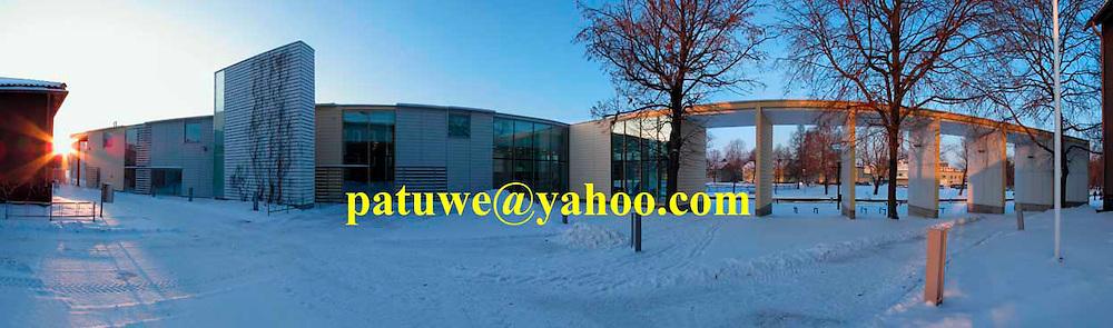 Panorama Finland Rauma public library
