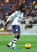 Daniel Johnson on the ball during the Sky Bet Championship match between Preston North End and Bolton Wanderers at Deepdale, Preston, England on 31 October 2015. Photo by Pete Burns.