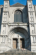 Stiftskirche St. Waltrudis, Mons, Hennegau, Wallonie, Belgien, Europa | abbey church Saint Waltrude, Mons, Hennegau, Wallonie, Belgium, Europe