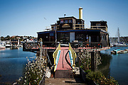 Marin City, April 6 2012 - The Vallejo, a floating house previously owned by XXXXX.
