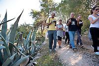 Entroterra di Brindisi, 6 ottobre 2011.Visita a Gregory Snegoff.Puglia Experience 2011..Apulia Audiovisual Workshop Puglia Experience.Apulia Film Commission