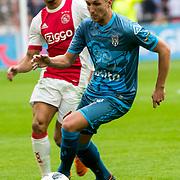 NLD/Amsterdam/20180408 - Ajax - Heracles, Justin Kluivert vs Peter van Ooijen (20)