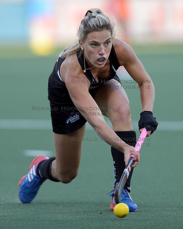 05-06-2014 NED: WK Hockey Nieuw-Zeeland - Nederland, Den Haag<br /> Nederland wint met 2-0 van New Zealand / Gemma Flynn