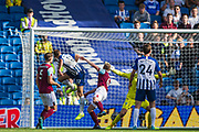 Glenn Murray (Brighton) attempt at goal during the Premier League match between Brighton and Hove Albion and Burnley at the American Express Community Stadium, Brighton and Hove, England on 14 September 2019.