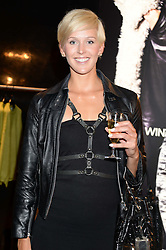 Olympic rower VICTORIA THORNLEY at the opening of the Tiger of Sweden Store, 210 Piccadilly, London on 3rd October 2013.