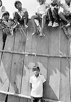 Kids at bullfight, Merida, Mexico
