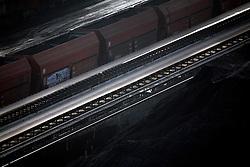 ITALY GENOA 23OCT08 - Coal terminal in the port of Genoa, Italy...jre/Photo by Jiri Rezac..© Jiri Rezac 2008..Contact: +44 (0) 7050 110 417.Mobile:  +44 (0) 7801 337 683.Office:  +44 (0) 20 8968 9635..Email:   jiri@jirirezac.com.Web:    www.jirirezac.com..All images © Jiri Rezac 2008. All rights reserved.