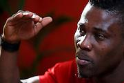 09.03.2016; Martigny; Fussball Super League - FC Sion: Ebenezer Assifuah (Sion). (Christian Pfander/freshfocus)
