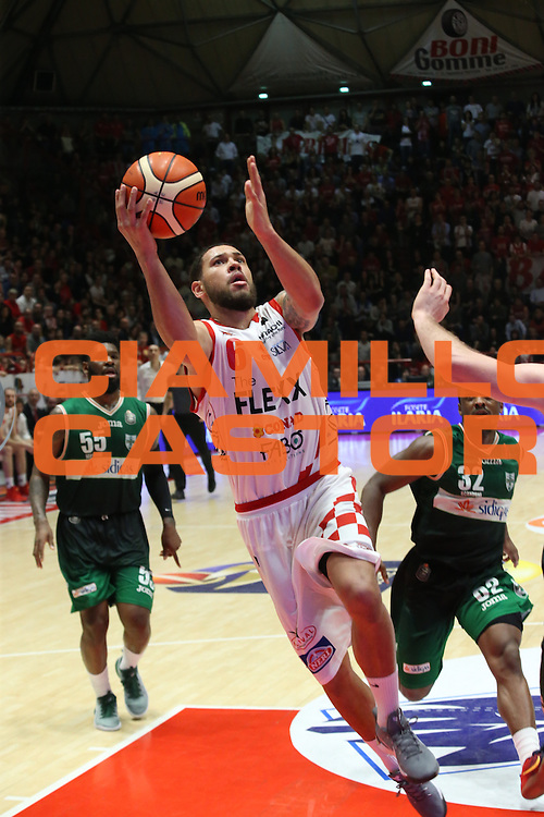 Okereafor Teddy<br /> The Flexx Pistoia - Sidigas Avellino<br /> BASKET SerieA 2016-2017<br /> Pistoia 05/02/2017 <br /> FOTO CIAMILLO