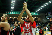 Ferrero Giancarlo<br /> De'Longhi Treviso vs Openjobmetis Varese<br /> Legabasket SerieA 2019-2020<br /> Treviso (TV), 05/01/2020<br /> Foto  Ciamillo-Castoria <br /> Esultanza