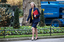 © Licensed to London News Pictures. 05/12/2017. London, UK. Chief Secretary to the Treasury Elizabeth Truss arrives on Downing Street for the weekly Cabinet meeting. Photo credit: Rob Pinney/LNP