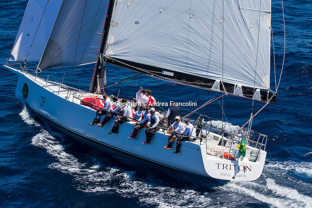 TRITON at the start of the 2016 Rolex Sydney to Hobart yacht race<br /> 26/12/2016<br /> ph. Andrea Francolini