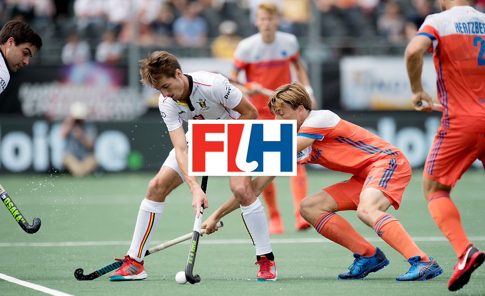 BREDA - Rabobank Hockey Champions Trophy<br /> The Netherlands - Belgium<br /> Photo: KINA Antoine and Jorrit Croon.<br /> COPYRIGHT WORLDSPORTPICS FRANK UIJLENBROEK