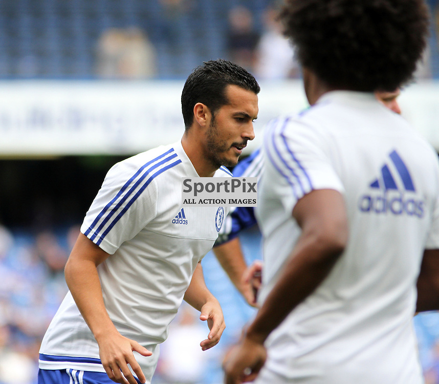 New signing Pedro During Chelsea vs Crystal Palace on Saturday the 29th August 2015