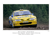 Martin Rowe / Nicky Beech<br /> Renault Dealer Rallying<br /> Renault Maxi Megane