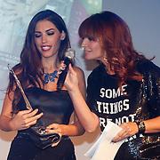 NLD/Amsterdam/20121112 - Beau Monde Awards 2012, Yolanthe Sneijder - Cabau van Kasbergen en Leontien Borsato - Ruiters