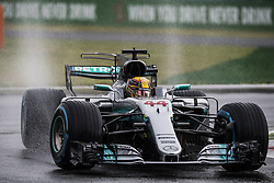 September 2, 2017 - Monza, Italy - Motorsports: FIA Formula One World Championship 2017, Grand Prix of Italy, .#44 Lewis Hamilton (GBR, Mercedes AMG Petronas F1 Team) (Credit Image: © Hoch Zwei via ZUMA Wire)