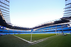 A general view of The Etihad Stadium ahead of the Barclays Premier League clash between Manchester City and Newcastle United - Photo mandatory by-line: Matt McNulty/JMP - Mobile: 07966 386802 - 21/02/2015 - SPORT - Football - Manchester - Etihad Stadium - Manchester City v Newcastle United - Barclays Premier League