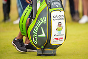The bag of Kiradech Aphibarnrat (THA) during the third round of the Aberdeen Standard Investments Scottish Open at The Renaissance Club, North Berwick, Scotland on 13 July 2019.