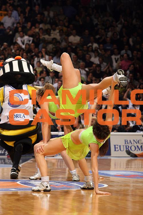 DESCRIZIONE : Bologna Coppa Italia 2006-07 Finale VidiVici Virtus Bologna Benetton Treviso<br /> GIOCATORE : Cheerleaders<br /> SQUADRA : <br /> EVENTO : Campionato Lega A1 2006-2007 Tim Cup Final Eight Coppa Italia Finale<br /> GARA : VidiVici Virtus Bologna Benetton Treviso<br /> DATA : 11/02/2007<br /> CATEGORIA : <br /> SPORT : Pallacanestro <br /> AUTORE : Agenzia Ciamillo-Castoria/M.Marchi