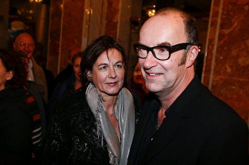 NLD/Amsterdam/20121221 - Premiere Wereldkerstcircus 2012, Bart Chabot en partner Jolanda van den Burg