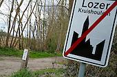 2016.04.11 - Kruishoutem - Signalisation mtb track