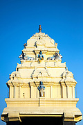 KADIRI, INDIA - 04th November 2019 - Hindu temple architecture, Lalbagh Botanical Garden, Bangalore Bengaluru, Karnataka, India, South India