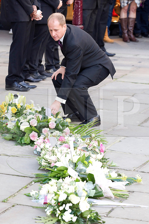 © Licensed to London News Pictures. 22/10/2011. Manchester, UK. The funeral of former Coronation Street actress Betty Driver at St Ann's Church in Manchester. The actress lived to the age of 91. Photo credit : Joel Goodman/LNP