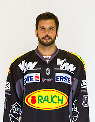 29.08.2012, Messestadion, Dornbirn, AUT, EBEL, Spielerportraits, Dornbirner Eishockey Club, im Bild John Hecimovic, (Dornbirner Eishockey Club, #09)// during Dornbirner Eishockey Club Player Portrait Session at the Messestadion, Dornbirn, Austria on 2012/08/29, EXPA Pictures © 2012, PhotoCredit: EXPA/ Peter Rinderer