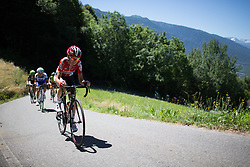 Claudia Lichtenberg (GER) of Lotto Soudal Cycling Team rides up the Mortirolo during the Giro Rosa 2016 - Stage 5. A 77.5 km road race from Grosio to Tirano, Italy on July 6th 2016.
