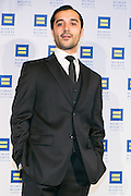 "Frankie Alvarez, actor starring in HBO's ""Looking"" at the HRC's Greater NY Gala 2014 held at the Waldorf=Astoria in New York City on Saturday, February 8, 2014. (Photo: JeffreyHolmes.com)"