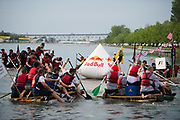 June 8-11, 2017: Canadian Grand Prix. F1 mechanics compete in the F1 raft race