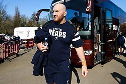 Yann Thomas of Bristol Bears arrives at Harlequins - Mandatory by-line: Robbie Stephenson/JMP - 23/02/2019 - RUGBY - Twickenham Stoop - London, England - Harlequins v Bristol Bears - Gallagher Premiership Rugby