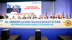 04.03.2017, Messe, Klagenfurt, AUT, FPÖ, 32. Ordentlicher Bundesparteitag, im Bild das Parteipräsidiium // at the 32nd Ordinary Party Convention of the Freiheitliche Partei Oesterreich (FPÖ) in Klagenfurt, Austria on 2017/03/04. EXPA Pictures © 2017, PhotoCredit: EXPA/ Wolgang Jannach