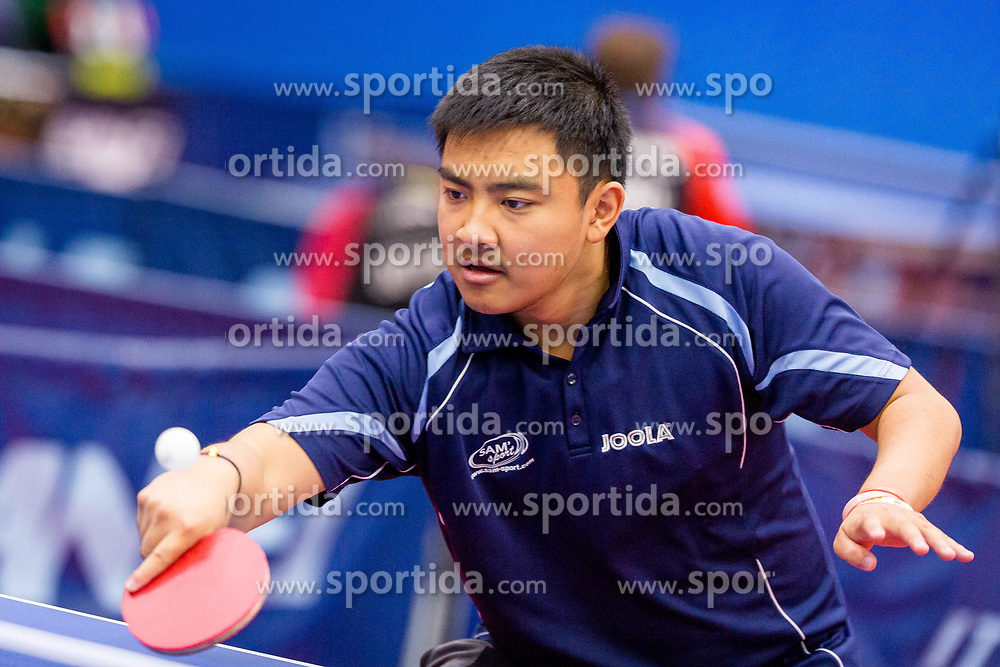 ZHAO Antoine during day 2 of 15th EPINT tournament - European Table Tennis Championships for the Disabled 2017, at Arena Tri Lilije, Lasko, Slovenia, on September 29, 2017. Photo by Ziga Zupan / Sportida