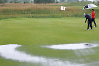 Biddinghuizen - Voorjaarswedstrijd dames 2007, Regen, Enorme regenbuien. COPYRIGHT KOEN SUYK