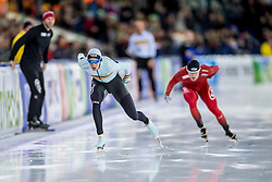 10-12-2016 NED: ISU World Cup Speed Skating, Heerenveen<br /> 1500 m men / Bart Swings BEL