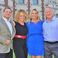 Angie and David Gellner, Linda and Bryan Ousley