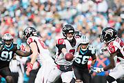 December 23, 2018. Panthers vs Falcons. Falcons' QB Matt Ryan