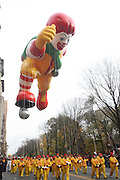 26 November 2009, NY, NY- Ronald McDonald Balloon at The 2009 Macy's Day Parade held on November 26, 2009 in New York City. Terrence Jennings/Sipa