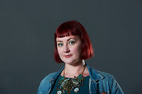 Kirsty Logan Author, appears in Edinburgh International Book Festival talking about her new book called The Gloaming.