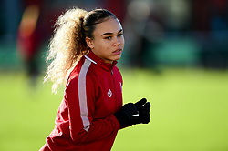 Ebony Salmon of Bristol City - Mandatory by-line: Ryan Hiscott/JMP - 19/01/2020 - FOOTBALL - Stoke Gifford Stadium - Bristol, England - Bristol City Women v Liverpool Women - Barclays FA Women's Super League