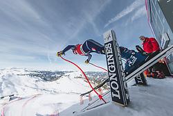 09.01.2020, Keelberloch Rennstrecke, Altenmark, AUT, FIS Weltcup Ski Alpin, Abfahrt, Damen, 1. Training, im Bild Federica Brignone (ITA) // Federica Brignone of Italy in action during her 1st training run for the women's Downhill of FIS ski alpine world cup at the Keelberloch Rennstrecke in Altenmark, Austria on 2020/01/09. EXPA Pictures © 2020, PhotoCredit: EXPA/ Johann Groder