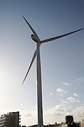Large wind turbine called Gulliver, Lowestoft, Suffolk, England
