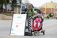 April 8, 2018: Open Streets OKC takes place on 23rd street between Robinson and Western north of downtown Oklahoma City, Oklahoma.