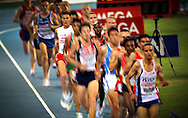 British athlete Farah Mo competes in the 10000m event of European Athletics Championships on 27 July 2010 in Barcelona, Spain.