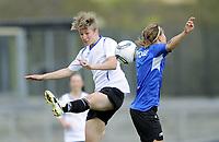 Fotball<br /> Norge<br /> 04.05.2011<br /> Foto: Morten Olsen, Digitalsport<br /> <br /> Trening Norge A kvinner<br /> Nadderud Stadion<br /> Internkamp - Norge Blå mot Norge Hvit<br /> <br /> Ida Elise Enget (W)