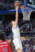 Real Madrid Jaycee Carroll during Turkish Airlines Euroleague match between Real Madrid and CSKA Moscu at Wizink Center in Madrid, Spain. October 19, 2017. (ALTERPHOTOS/Borja B.Hojas)