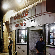 The original CBGB in New York.